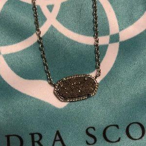 Silver Kendra Scott necklace